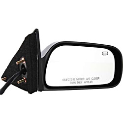 Fits 97-01 Camry Right Pass Power Mirror Unpainted W/heat Include Adapter