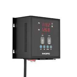 Wired INKBIRD IPB16 PID Temperature controller 15A heater Thermostat AC 110-220V