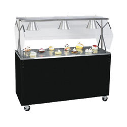 Vollrath 38766 60 Affordable Portable Storage Base Utility Station Cherry