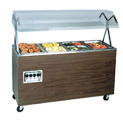Vollrath 38768 46 Affordable Portable Storage Base Hot Food Station Cherry