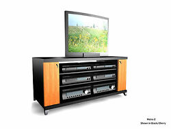 Soundations Metro 2 Imported Hand-made Designer Tv/media Stand New