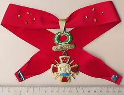 Philippines Medal Of Valor Military Commander Neck Badge Order Officer Xtra Rare