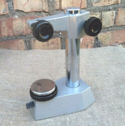 Indicator Micrometer Stand Vertical Stand Vintage