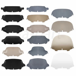 4.5and039and039 6 7and039and039 8 10and039and039 Wave Windshield Fit For Harley Touring Street Glide Flht