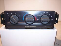 2001 CHEVROLET S10 S-10  AC AC HEATER CLIMATE CONTROL   1704034