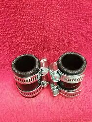 Yamaha Banshee Exhaust Pipe Clamps Black Fits All Years Factory Toomey Fmf Pc