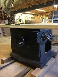 Oliver 18 Industrial Table Saw 230 Three Phase Cabinetmakers Quick Adjustment