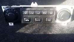 1998 - 2000 Honda Accord MANUAL HEATER AC CLIMATE CONTROL