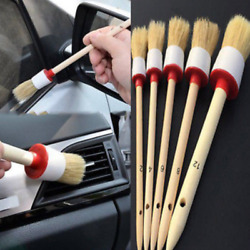 5 Size Brush Automobile Truck Dash Board Center Console Cleaning Tool Universial