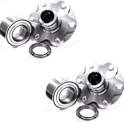 Front Wheel Hub And Bearing For 2001-2007 Toyota Tundra 2wd Only Pair Fast Ship