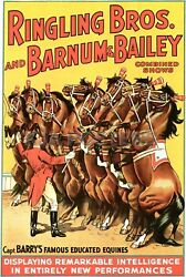 Ringling Brothers And Barnum And Bailey Poster Series