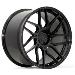 20 Rohana Rfx7 Black Forged Concave Wheels Rims Fits Ford Mustang Gt Gt500