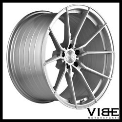 19 Vertini Rf1.2 Silver Forged Concave Wheels Rims Fits Bmw E60 M5