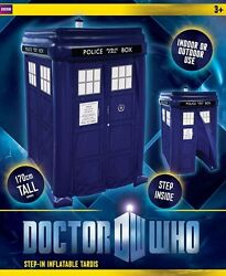 Dr. Who Inflatable walk-in TARDIS