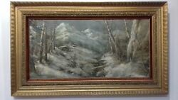 Vintage Art Oil Painting