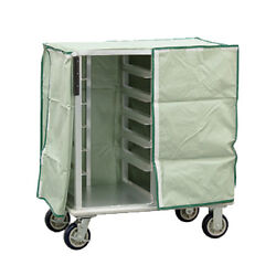 New Age 96005c Room Service Delivery Cart W/ 12 Tray Capacity