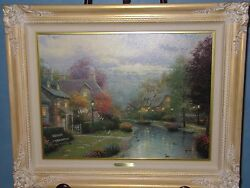 Thomas Kinkade art canvas