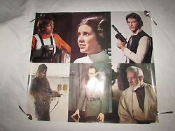 Vintage Rare Star Wars Posters A New Hope 18 In Total Fox Press Release