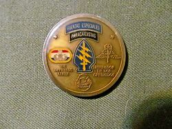 Rare 0009 ,company B 3/20th Special Forces Groupairborne Challenge Coin