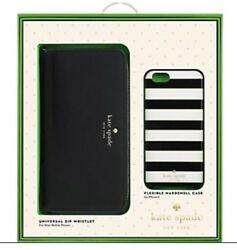 Kate Spade Zip Wristlet and Case for iPhone 66s NIB