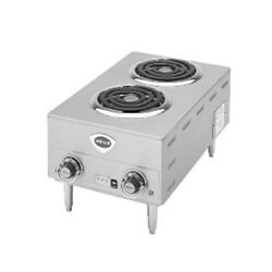 Wells H-63 Electric Two Burner Countertop Hot Plate