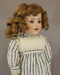 Seldom Seen Antique German Bisque Doll And039dolly Dimplesand039 By Heubach