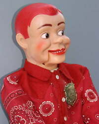 Jerry Mahoney Ventriloquist Vinyl Doll With Cloth Body
