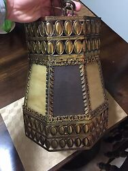 Antique Lamp Excellent Condition Early 1950s All Original Glass