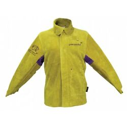 Parweld Panther Leather Welders Welding Jacket Apron Sleeves Spats Drivers