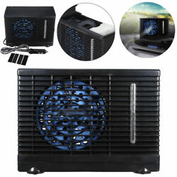 12V 3A Car Evaporative Air Conditioner Cooler Cooling Fan Water Ice For Summer