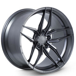 20 Ferrada F8-fr5 Graphite Forged Concave Wheels Rims Fits Infiniti G35 Coupe