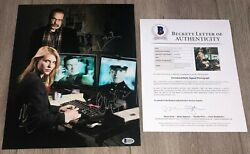Homeland Cast Signed X3 11x14 Photo Claire Danes +2 W/proof And Beckett Bas Loa