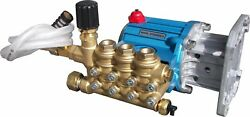 CAT PUMP 67DX39G1I COMPLETELY PLUMBED WTHERMAL INLET & OUTLET FITTINGS