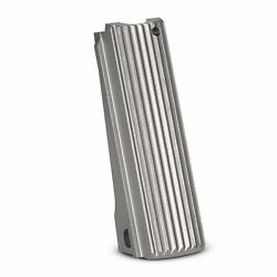 1911 Mainspring Housing Stainless Steel Lines Design -full Size , 1911 Msh,