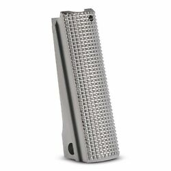 1911 Mainspring Housing Stainless Steel Checkered - Full Size 1911 Msh