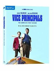 Vice Principals The Complete First Season Blu-ray, 2017, Canadian,french Incl