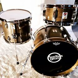 Side Kick Drums Travel Drum Set - 3 Piece Shell Pack 18/14/12