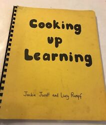 COOKING UP LEARNING Easy Childrens Cook Book Crafts Vintage Pinterest