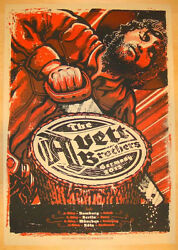 The Avett Brothers 3/5-11/2013 Germany Poster Signed And Numbered /210