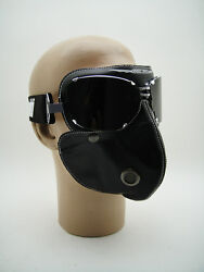 New Baruffaldi Face Mask + Super Competition Goggles Motorcycle Rider Tt Racer