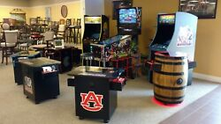 Official Collegiate Licensed Arcade Games- New Made In Usa - College Team Choice