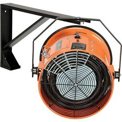 Electric Wall Heater - Forced Fan - 208 Volts - 3 Phase - 51180 Btu - 1500 Cfm
