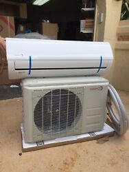 Mini Split Air Conditioner  18000 BTU TOSHIBA INVERTER  Heat Pump