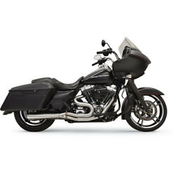 Bassani Road Rage Stainless 2 Into 1 Exhaust System 1f32ss For Harley 1995-2016