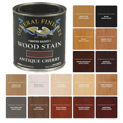 General Finishes Water-based Semi-gel Wiping Wood Stain, 17 Colors Pint, Quart