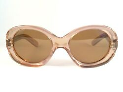 VINTAGE PHILIPPE CHEVALLIER ROSE COLLECTOR ITEM 1970S FRANCE SUNGLASSES