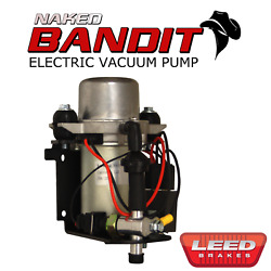 Electric Vacuum Pump For Power Brakes 12v Prewired - Naked Bandit