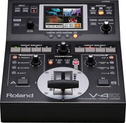 Roland V-4ex 4 Channel Digital Video Mixer With Effects Hdmi