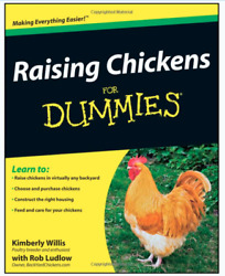 Raising chickens for dummies by Kimberly Willis (Paperback) NEW