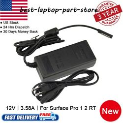 FOR Microsoft Surface RT  PRO  2 Charger Model 15121513 12V 45W AC Adapte Lot